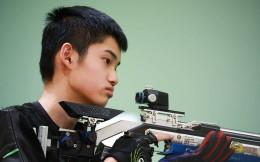 再添两枚奖牌!16岁小将盛李豪夺得男子10米气步枪银牌,杨皓然铜牌