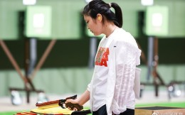 姜冉馨夺东京奥运女子10米气手枪铜牌