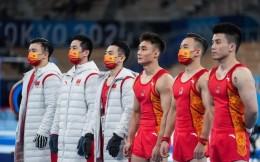 中国体操男团憾获铜牌