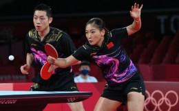 2:0领先惨遭日本逆转!许昕/刘诗雯夺得乒乓球混双银牌