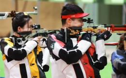 第9金!杨倩/杨皓然10米气步枪混合团体赛夺冠