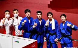 表演赛摘金!中国队获东京奥运会跆拳道混合团体项目金牌