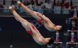 第11金!跳水男子双人三米板 王宗源/谢思埸23分优势夺冠