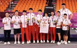 全新历史!中国女子三人篮球队击败法国夺得奥运铜牌