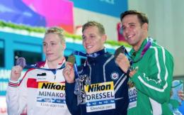 """打破奥运纪录!新""""飞鱼""""德雷塞尔47.02秒勇夺男子100米自由泳金牌"""