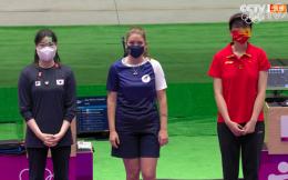 两次加赛获胜 肖嘉芮萱勇夺女子运动手枪铜牌