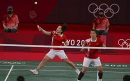 实力碾压!陈清晨/贾一凡2-0晋级羽毛球女双决赛 将战印尼组合