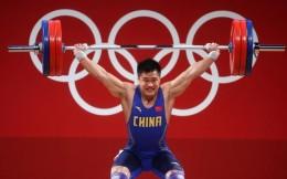 第21金!舉重男子81公斤級呂小軍奪冠,創3項奧運紀錄
