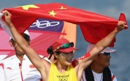 第20金!盧云秀帆板RS:X級奪得中國帆船帆板奧運第3金