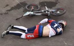事故頻出!東京奧運小輪車賽場驚險不斷 衛冕冠軍腦出血退賽