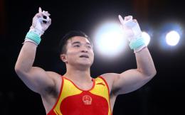 第26金!刘洋夺得体操男子吊环金牌 尤浩银牌