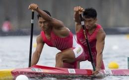 刘浩/郑鹏飞夺得男子1000米双人划艇银牌