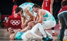 斯洛文尼亚首次跻身奥运男篮四强 东契奇社媒感叹:一个200万人口的国家!