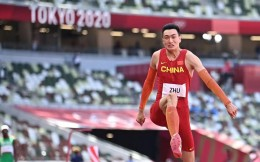 历史性突破!朱亚明17米57勇夺奥运男子三级跳远银牌