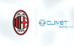 空调品牌Clivet成为AC米兰空调和空气质量合作伙伴