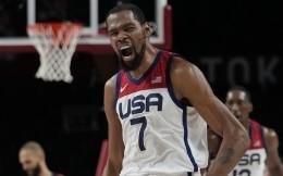 美国男篮87-82击败法国夺冠,20届奥运会第16次登顶