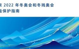 严打侵权!北京冬奥组委发布8个版本的《北京2022年冬奥会和冬残奥会权益保护指南》