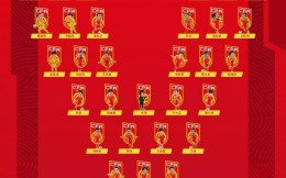 国足最新31人名单出炉:武磊、艾克森领衔 王秋明、巴顿等新人入选