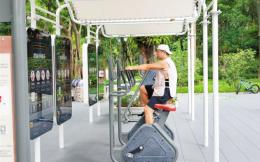 深圳推进建设室外智能健身房