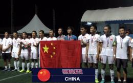 中国盲人足球队东京残奥会目标力争奖牌