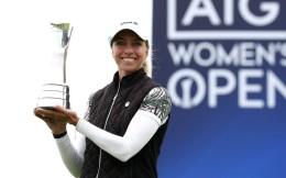 英国女子公开赛奖金增至580万美元 创高球界纪录