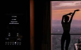 智能健身镜FITURE与北京国贸大酒店合作