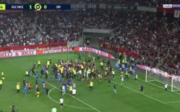 法媒:3名未成年球迷卷入尼斯马赛冲突 被逮捕后移交监护人看管