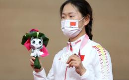 残奥中国队首枚奖牌!王小梅落后4秒摘银