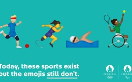 暖心!2024巴黎奥组委申报四个残奥运动emoji表情