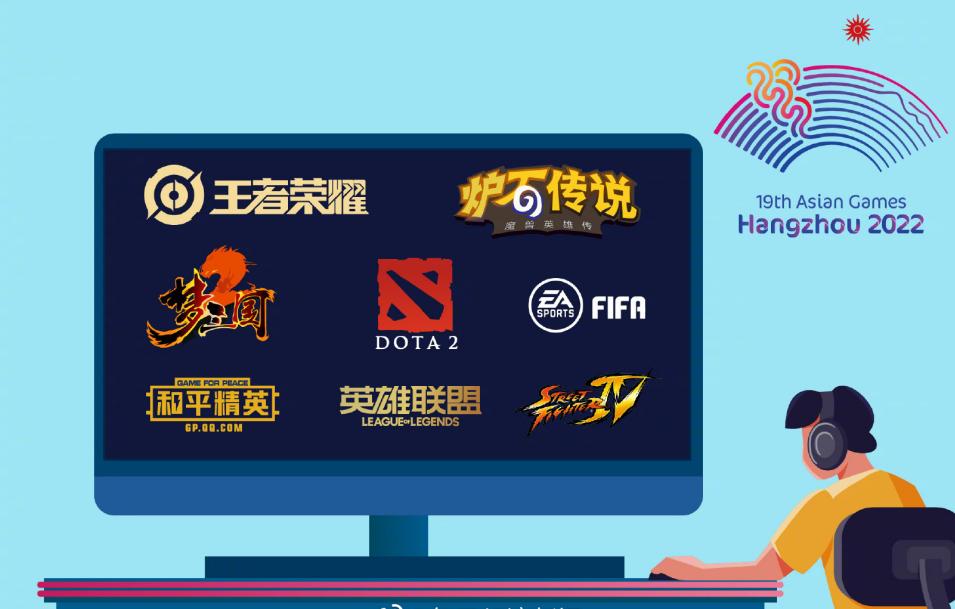 2022杭州亚运会八大电竞项目正式公布