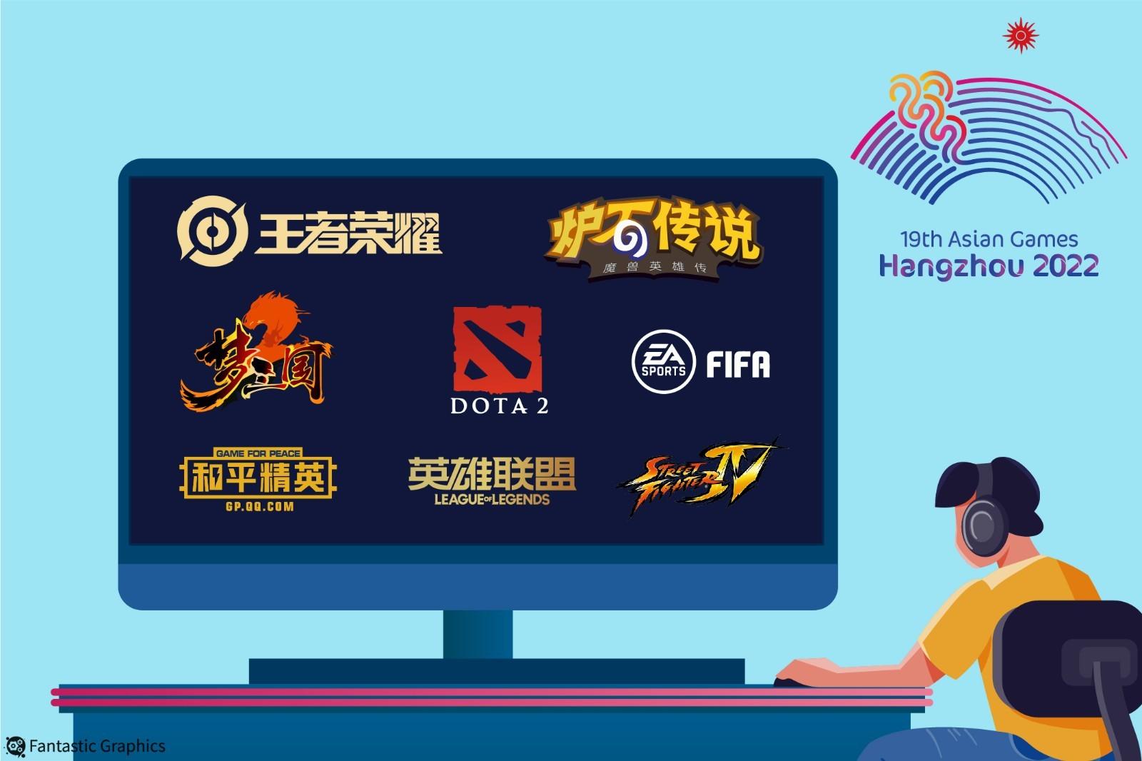 体育产业早餐9.9 杭州亚运会八大电竞项目正式公布 KPL完成全面地域化冠名