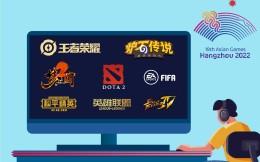 杭州亚运会8大电竞项目公布!电竞产业再迎历史性机遇