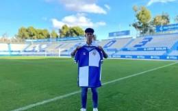 官宣!国青小将何小珂正式加盟西班牙萨瓦德尔U19A队