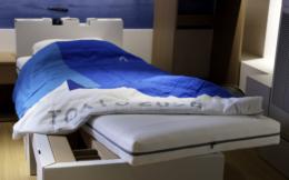 东京奥运村纸板床或用作新冠病床