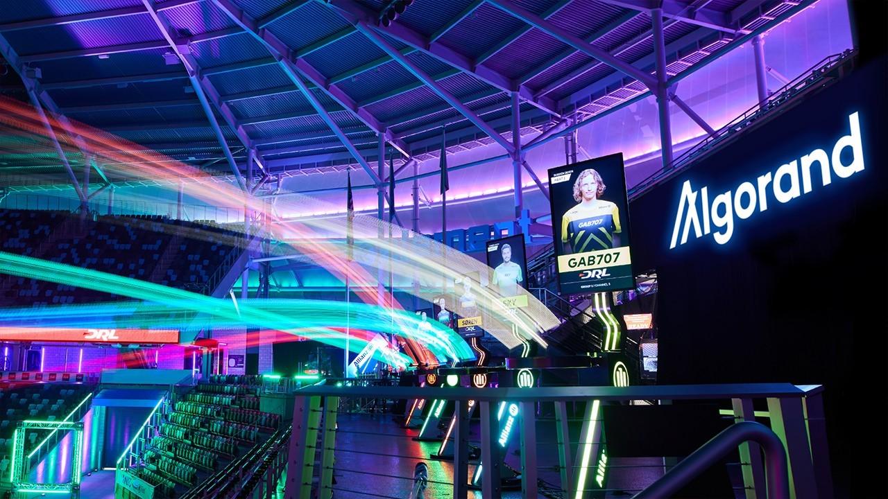 5年1亿美元!Algorand成为DRL无人机竞速联盟冠名赞助商