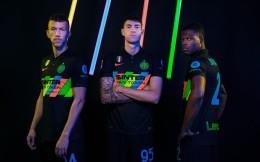 国际米兰第三球衣发布,主打平等+环保理念