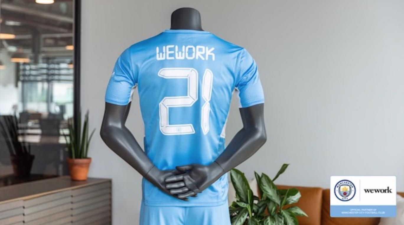 WeWork成为曼城和纽约城官方合作伙伴