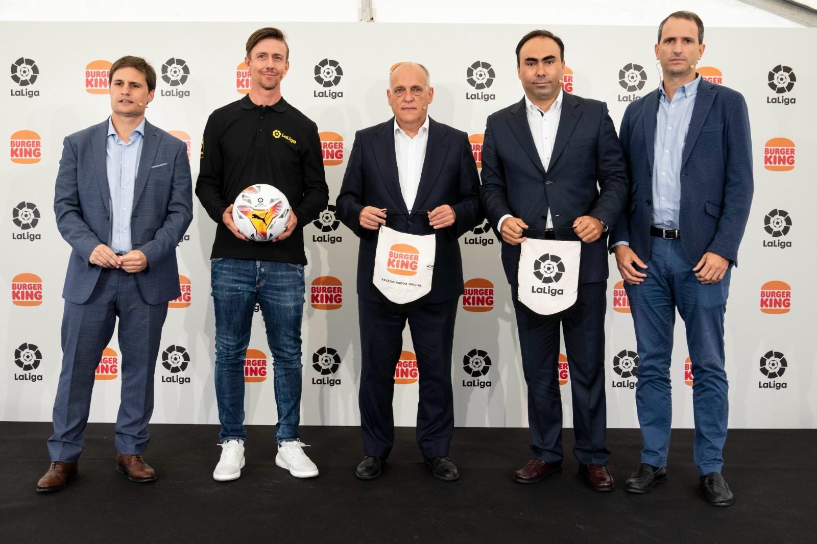 汉堡王成为西甲联赛赞助商,签约3年