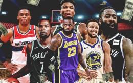 曝NBA正寻求总价值750亿电视转播合同 届时顶薪或将高达3.5亿美元