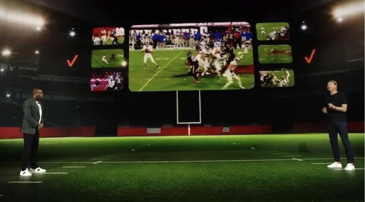 NFL与电信巨头Verizon续约十年 交易总价值超过10亿美元