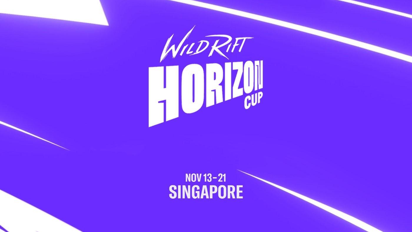 英雄联盟手游首个全球性赛事11月13日将在新加坡举办