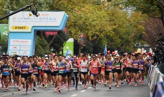 杭州马拉松将于11月7日开跑
