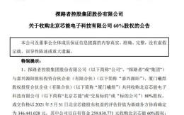 跨界搞芯片?探路者拟2.6亿收购北京芯能60%股权