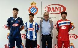加泰食品品牌DANI成为西班牙人青年队胸前赞助商