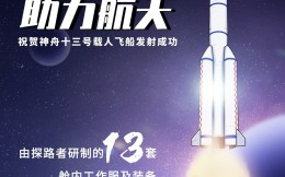 探路者:2021年负责研制13套航天员舱内工作服及装备
