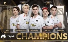 独揽1.1亿元奖金,TSpirit拿下TI10国际邀请赛冠军
