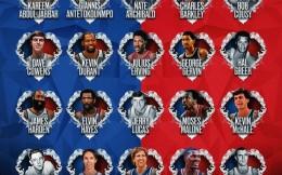 NBA公布75周年75大巨星第一批25人 KD字母哥哈登在列